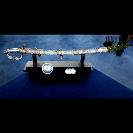 Jeweled Caucasian Sword on The Antiques Roadshow