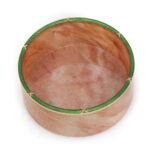 top view, Fabergé Eosite and Enamel Circular Dish