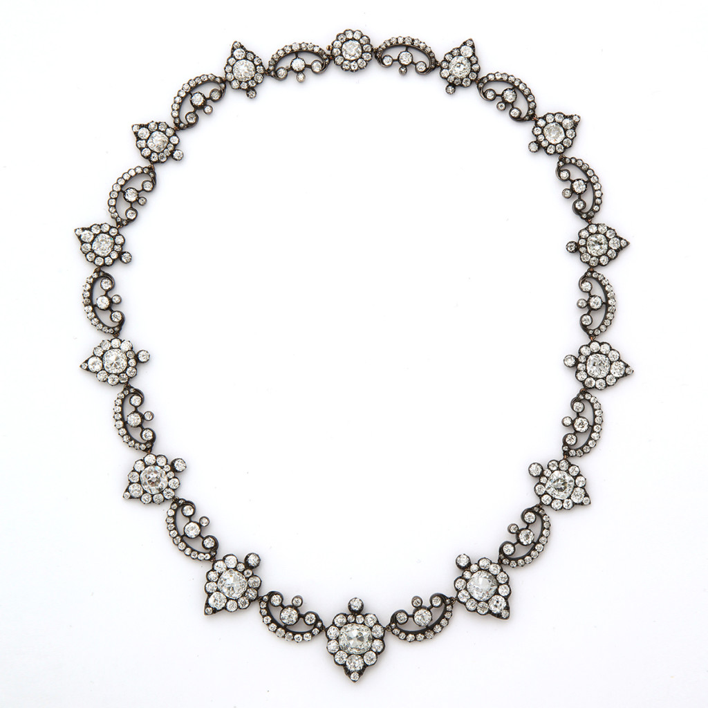 Georgian Revival Antique Diamond Necklace